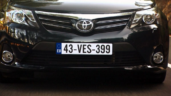 Toyota Avensis Facelift 2012