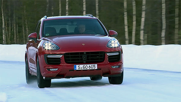 Porsche Cayenne: Winter Performance Drive
