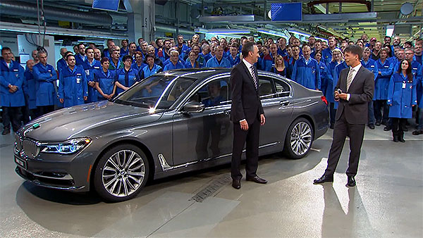 BMW 7er Weltpremiere in Dingolfing