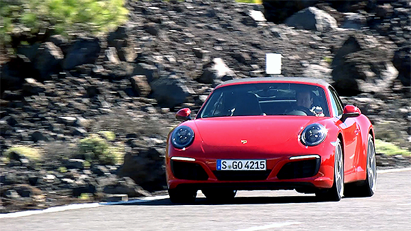 Neue Turbo-Power im Porsche 911 Carrera Cabriolet
