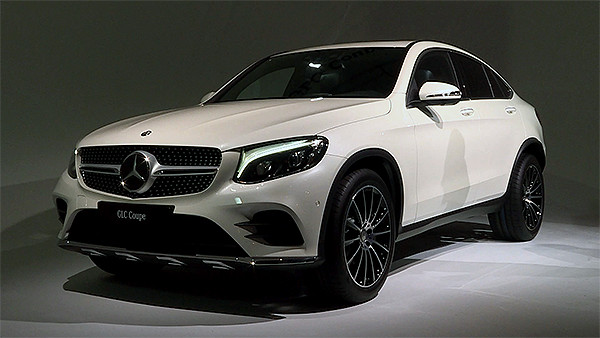 Weltpremiere NYIAS: Mercedes-Benz GLC Coupé