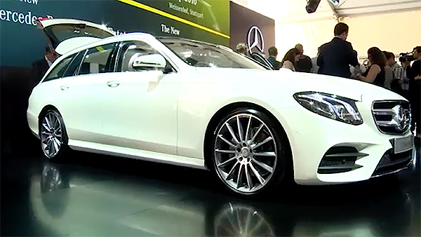 Weltpremiere Mercedes-Benz-E-Klasse-T-Model