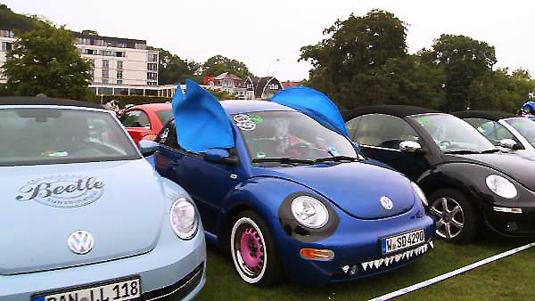 VW Beetle Sunshinetour 2016