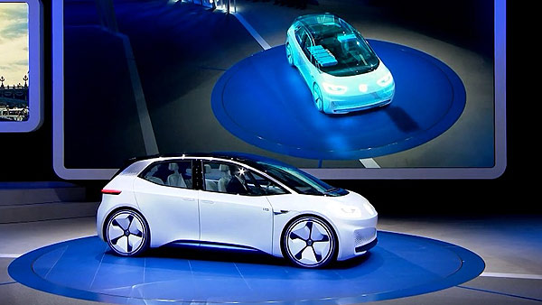 VW Strategie 2025 auf dem Pariser Autosalon 2016