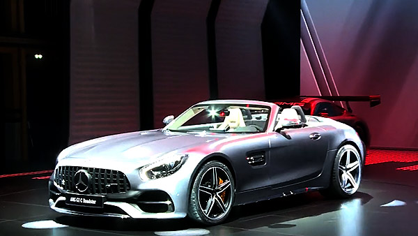 Mercedes-Benz Autosalon Paris 2016
