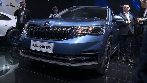 Skoda Karmiq Neuvorstellung in Peking