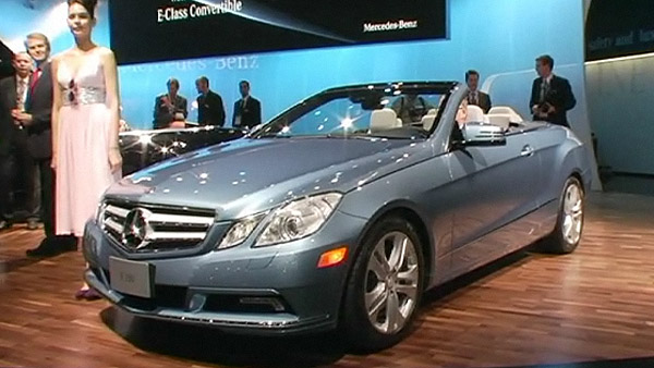 Mercedes-Benz Cabrio-Premiere in Detroit