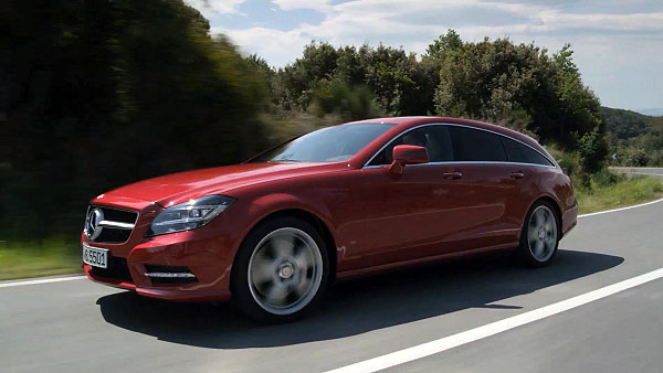 Weltpremiere des Mercedes CLS Shooting Brake