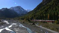 Bernina Express – Panoramafahrt in den Winter